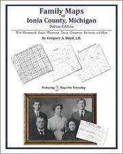 Family Maps Ionia County Michigan Genealogy MI Plat