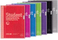 Collegblock Brunnen DIN A4 Premium Papier 90gr/qm mit Rand 4fach gelocht kariert