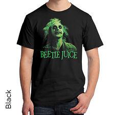 Beetlejuice Graphic Tee Shirt Green 80s Tim Burton Michael Keaton 289