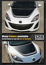 Mazda 3 Hood Accent Rally Racing Stripe Decal 2009 2010 2011 2012 2013