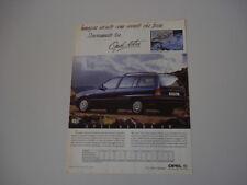 advertising Pubblicità 1992 OPEL ASTRA SW