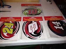 "NASCAR 7 1/2"" X 5"" MAGNET 2 PACK #10 OR #24 OR #3 OR#14 2013"
