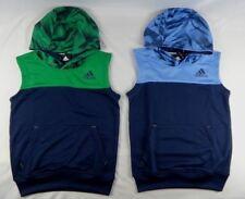 adidas Big Boys Tops Sleeveless Basketball Hoodie sizes S,M, L, XL