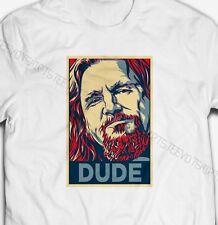 DUDE THE BIG LEBOWSKI HOPE POSTER 100% Cotton Parody T-shirt tshirt tee top