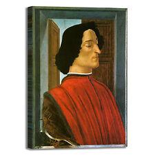 Botticelli Giuliano de medici quadro stampa tela dipinto telaio arredo casa