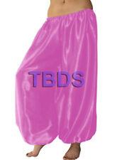 Orchid   Student Satin Harem Yoga Trouser Belly Dance Pant Pantalons   27 Color