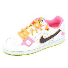 C5444 sneaker bimba NIKE SON OF FORCE GS scarpa bianco shoe girl kid