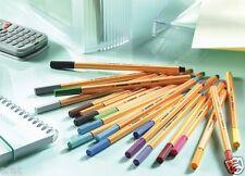 STABILO FINELINER Pen 88 wallet of 10/ Desk set of 20/ Rollers 30  NEW FREE P&P*