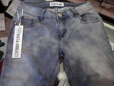 Jeans donna Baci & Abbracci elasticizzato slim ad effetto invecchiato art EDB05