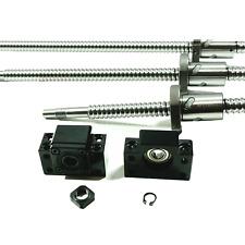 Precision (TRUE C7) Ball Screw 1605 & BF/BK12 Support 500/600/800/1200/1300mm