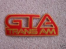 NEW Pontiac Trans Am GTA Fender Patches (5 colors)