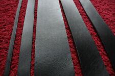 200 cm cinturino in pelle nera lunga cintura in bianco a strisce Larghezza 10-100 MM spessore 2 mm