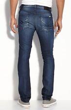 NWT HUDSON Men's Jeans Sartor Slouchy Skinny Leg Industrial Dark Blue