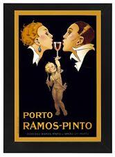 AZ06 Vintage 1920 Porto Ramos-Pinto Port Wine Advertisement Poster A1/A2/A3