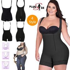UK FAJAS Womens Full Body Shaper Control Shapewear Compression Corset Plus Size
