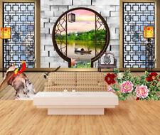 3D Garten Natur Landschaft 7989 Tapete Wandgemälde Tapeten Bild Familie DE Kyra
