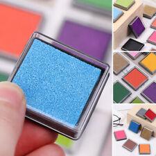 Multi-color Ink Pad Stamp Pads Fingerprint Inkpad Office & School Supplies