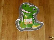 Wilton TYRANNOSAURUS T REX DINOSAUR Kids Birthday Party CAKE PAN Mold #2105-1022