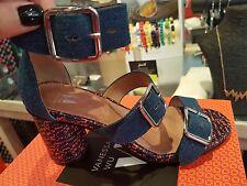 VANESSA WU été 2017 : sandales fa��on jean talon,neuves, étiquetées valeur 55€