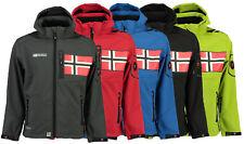 Geographical Norway Herren Softshell Jacke Funktions Jacke Kapuze S-XXL 5 Farben