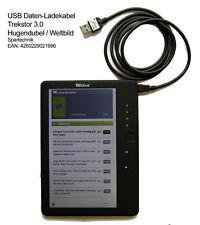 Sync USB e cavo di ricarica per Trekstor e-Book Reader 3.0 di Hugendubel mondo immagine