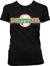 Portugal Soccer Ball - Futbol Portuguese Pride Nationality Juniors T-shirt