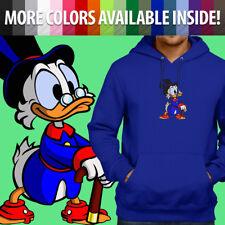Disney Scrooge McDuck DuckTales Cartoon Cute Pullover Sweatshirt Hoodie Sweater