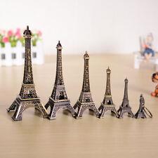 Vintage Statue Figurine Paris Eiffel Tower Model Metal Home Decorative Ornaments