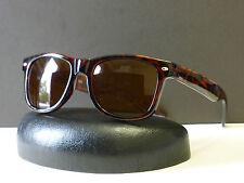 Mens Womens Retro 80s Wayfarer Spring Hinges Sunglasses W Microfiber bag #1543