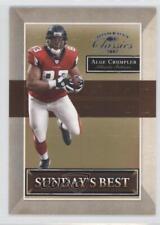 2007 Donruss Classics Sunday's Best Platinum #SB-8 Alge Crumpler Atlanta Falcons