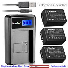 Kastar Battery LCD USB Charger for Panasonic DMW-BMB9 Panasonic Lumix DMC-FZ150