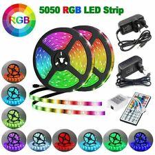 1~10M RGB LED STRIP LIGHTS COLOUR CHANGING FLEXBILE TAPE LIGHTING SMD5050 DC12V