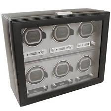 WOLF Viceroy 2.7 6 Piece Six Watch Winder Storage Box 456802