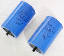 Coppia condensatori elettrolitici per Flash low ESR 2200uF 385V
