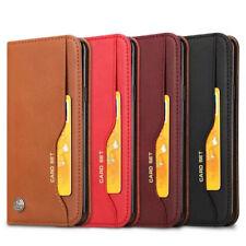 Flip Cover Portefeuille Cuir PU Bourse Etui Housse Pour Samsung S9 S10+A8 iPhone
