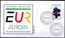 BRD 1998: Deutsche Einheit! Europa-FDC der Nr 1985! Sonderstempel von Bonn! 1602