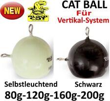 Black Cat CAT BALL / Selbstleuchtend-Schwarz 80-120-160-200g Vertikal-Kopf