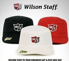 Wilson Staff Fg Tour Engineer Golf Cap. White, Red Or Black