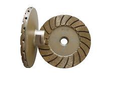 "4"" Disco turbo diamond cup wheel/wheels(fine) -- excellent balance, aggressive"