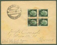 Luogotenenza. Lettera da Ragusa a Roma del 17.12.1944