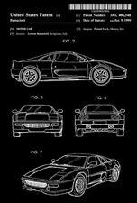 1999 - Ferrari 360 - Motor Car - L. Ramaciotti - Patent Art Poster