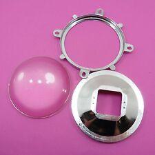 Set of 77mm Glass Lens + Reflector + Bracket DIY Power For 30W-100W LED Lamp