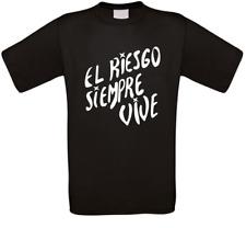 El Riesgo siempre vive Aliens Vasquez Horror Kult Movie T-Shirt alle Größen NEU
