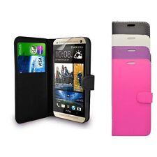 PER HTC desiderio 620 Portafoglio Flip in vari colori Proteggi Schermo