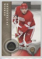 2005-06 SP Game Used Edition Gold #37 Henrik Zetterberg Detroit Red Wings Card
