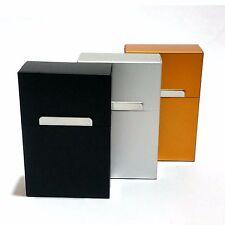Zigarettenetui Aluminium Zigarettenbox Etui Box Zigaretten Schachtel Dose Metall