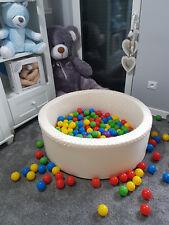 Bällebad Ballpool Kugelbad Rund Top Qualität NEU! viele Farben 300 Bälle im Set