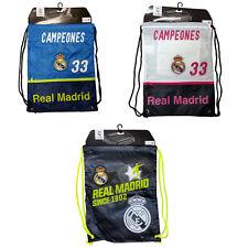 Real Madrid Cinch Bags Official Licensed Rhinox
