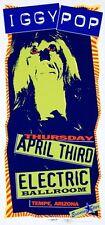 Iggy Pop Concert Handbill Artist Mark Arminski Electric Ballroom