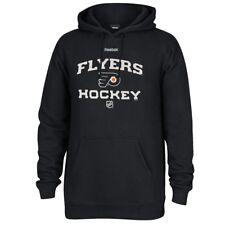 Philadelphia Flyers NHL Black Authentic Locker Room Graphic Pullover Hoodie